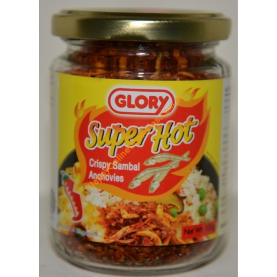 Glory - Super Hot Crispy Sambal Anchovies