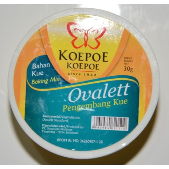 Koepoe  Koepoe Ovalett Pengembang Kue 75g
