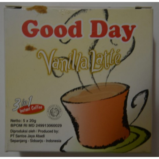Good Day - Vanilla Latte 30x20g
