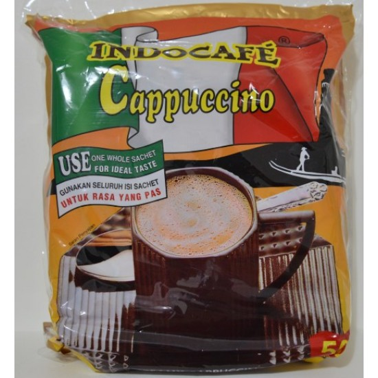 Indocafe - Cappuccino 50x25g