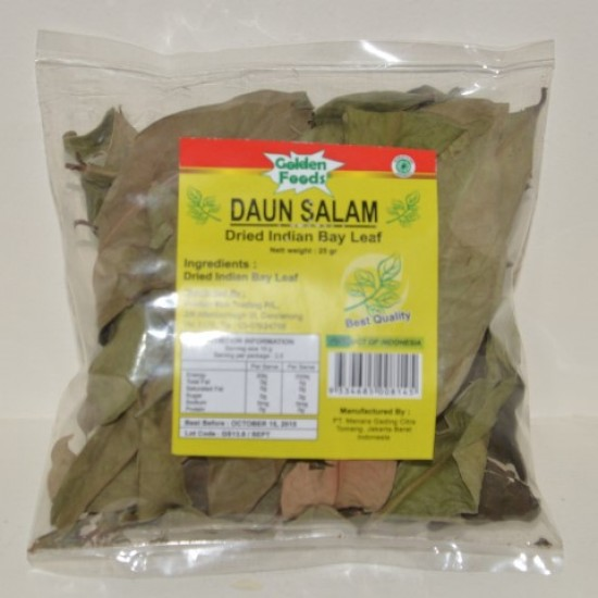Indonesian Dried BayLeaf Daun Salam 25g