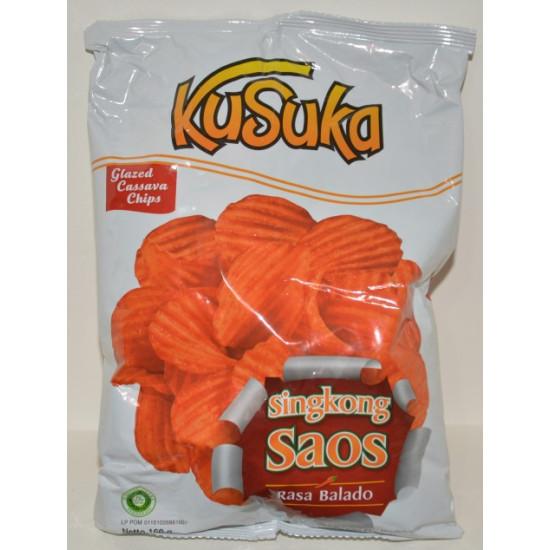 Kusuka - Singkong Saos 160g