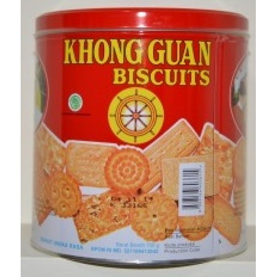 Khong Guan Kaleng Assorted Biscuits 650gr