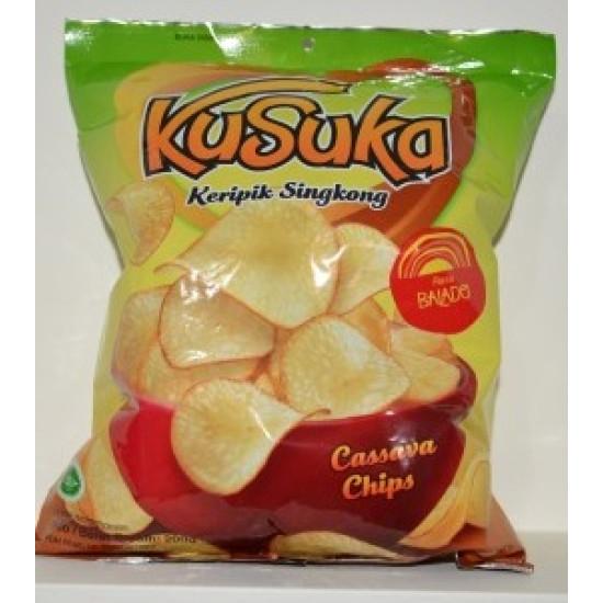 Kusuka - Keripik Singkong Balado