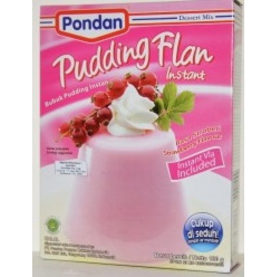 Pondan - Pudding Flan Strawberry 180gr