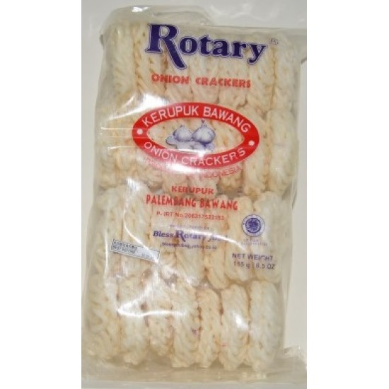 Rotary - Kerupuk Bawang 185gr
