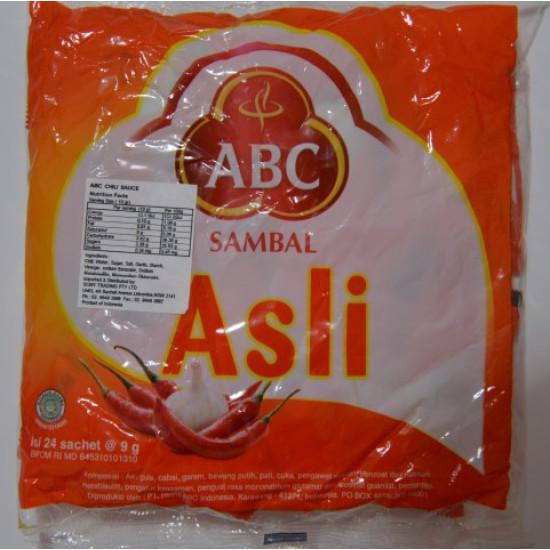 ABC - Sambal Asli Sachets 9g