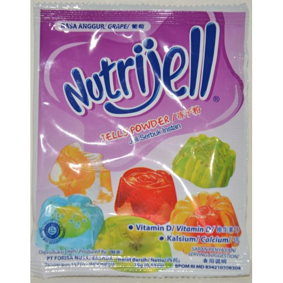 Nutrijell - Grapes 15gr