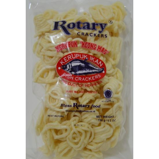 Rotary - Kerupuk Ikan KeongMas150g
